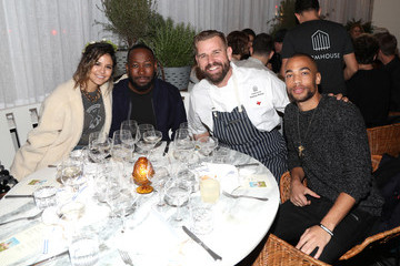 Kendrick Sampson Grand Opening Of FARMHOUSE Los Angeles