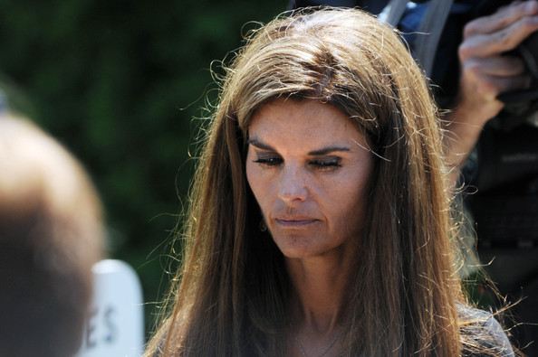 Maria Shriver in Kennedys, Dignitaries Attend Funeral For ...