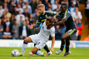 Kenneth Omeruo Leeds United v Middlesbrough