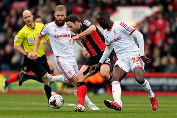 Kenneth Omeruo AFC Bournemouth v Middlesbrough - Sky Bet Championship
