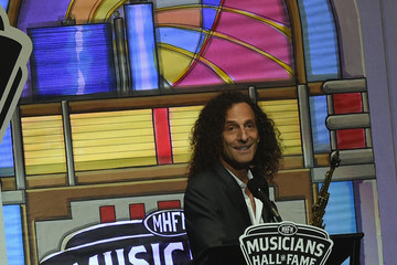 Kenny G Musicians Hall Of Fame 2016 Induction Ceremony