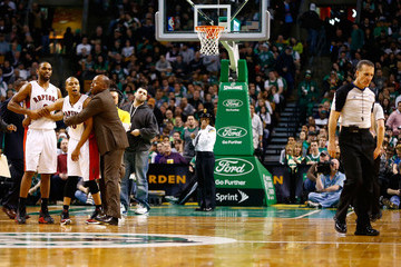 Kenny Mauer Toronto Raptors v Boston Celtics