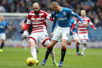 Kenny Miller Rangers v Hamilton Academical - Scottish Cup Quarter-Final