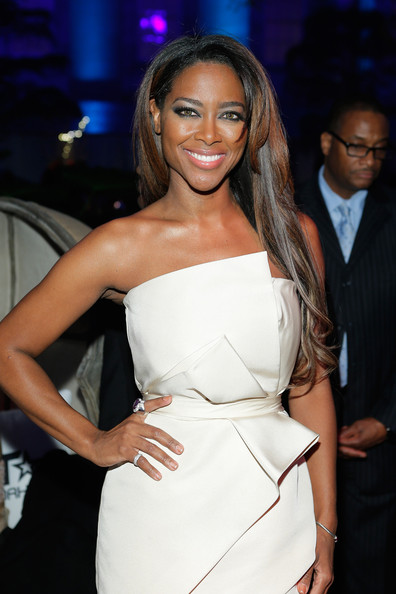 Kenya Moore - BET Networks Host Inaugural Ball - Inside