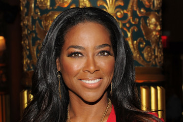 Kenya Moore Kithe Brewster - Front Row - Mercedes-Benz Fashion Week Spring 2015