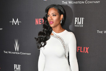 Kenya Moore 2017 Weinstein Company and Netflix Golden Globes After Party - Arrivals