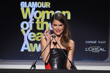 Keri Russell Cindi Leive Honors the 2014 Women of the Year