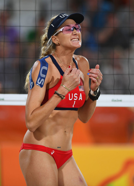 49327cc9f8 Kerri Walsh Jennings Photos Photos - Beach Volleyball - Olympics ...