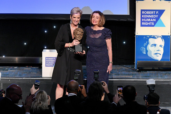 2019 RFK Ripple of Hope Awards [event,design,performance,stage equipment,convention,tourism,rfk ripple,kerry kennedy,nancy pelosi,hope awards,new york city,new york hilton midtown]