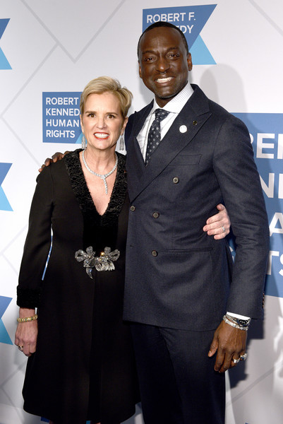 Robert F. Kennedy Human Rights Hosts 2019 Ripple Of Hope Gala & Auction In NYC - Arrivals [robert f. kennedy human rights hosts 2019 ripple of hope gala auction,president,kerry kennedy,yusef salaam,suit,formal wear,event,fashion,tuxedo,white-collar worker,premiere,award,carpet,nyc - arrivals,new york city,robert f. kennedy human rights hosts 2019 ripple of hope gala auction in nyc]