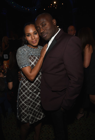 Kerry Washington Kerry Washington and fashion and style director of W magazine Edward Enninful attend the 18th Annual Accessories Council ACE Awards At Cipriani 42nd Street at Cipriani 42nd Street on November 3, 2014 in New York City.