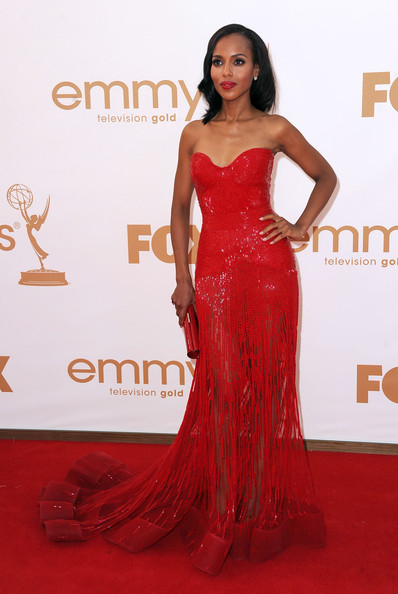 Kerry Washington Actress Kerry Washington arrives at the 63rd Annual Primetime Emmy Awards held at Nokia Theatre L.A. LIVE on September 18, 2011 in Los Angeles, California.