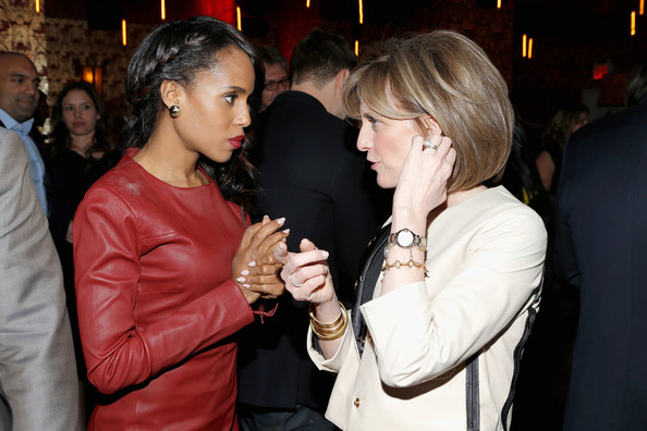 Celebs Attend an Upfronts Party in NYC
