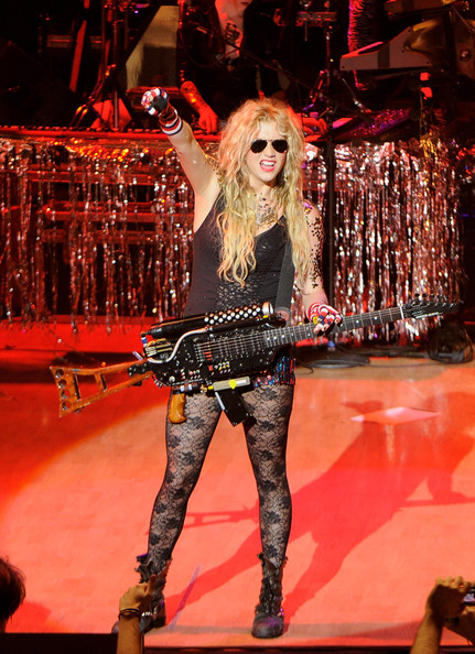 Kesha Singer Ke$ha performs on stage at Palacio Municipal de congresos on December 12, 2010 in Madrid, Spain.