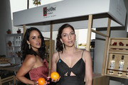 Melissa Fumero (L) and Chelsea Peretti experiencing the Ketel Market at the 29th Annual GLAAD Media Awards Los Angeles, in partnership with LGBTQ ally, Ketel One Family-Made Vodka at The Beverly Hilton Hotel on April 12, 2018 in Beverly Hills, California.