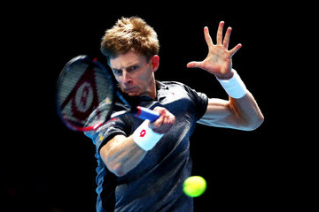 Kevin Anderson Nitto ATP World Tour Finals - Day Three