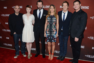 Kevin Bacon Marcos Siega 'The Following' Screening in Hollywood