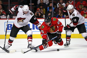 Kevin Connauton Arizona Coyotes v Chicago Blackhawks