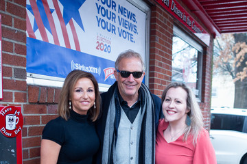 Kevin Costner SiriusXM Broadcasts 2020 New Hampshire Democratic Primary Live From Iconic Red Arrow Diner - Day 2