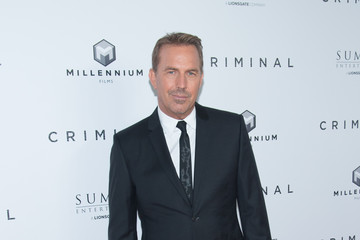 Kevin Costner 'Criminal' New York Premiere