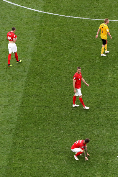 Belgium vs. England: 3rd Place Playoff - 2018 FIFA World Cup Russia [sport venue,soccer player,player,football,stadium,football player,soccer-specific stadium,red,grass,team sport,players,sides,russia,england,belgium,saint petersburg stadium,3rd place playoff - 2018 fifa world cup,match,russia 3rd place playoff,2018 fifa world cup]