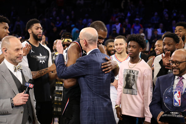2ef73966f883 Kevin Durant and Adam Silver Photos»Photostream · Pictures · 2019 NBA  All-Star Game