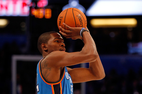 kevin durant pictures foot locker three point contest zimbio. Black Bedroom Furniture Sets. Home Design Ideas