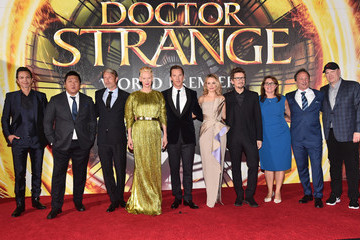 Kevin Feige The Los Angeles World Premiere of Marvel Studios' 'Doctor Strange'