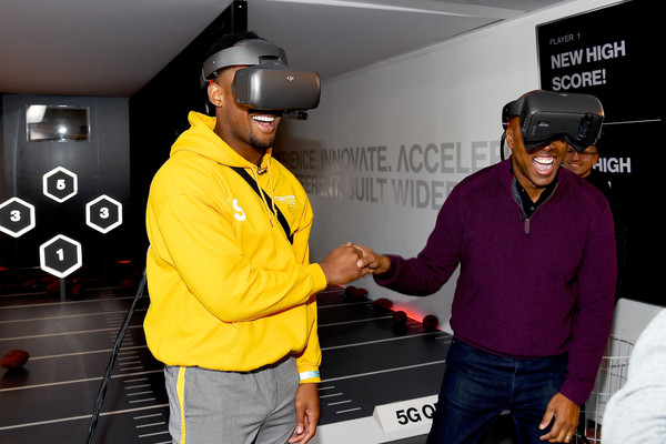 Juju Smith-Schuster Experiences The Future Of Football Through 5G With Verizon
