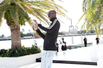 Kevin Garnett Samsung /make Creators Brunch During Miami Art Week