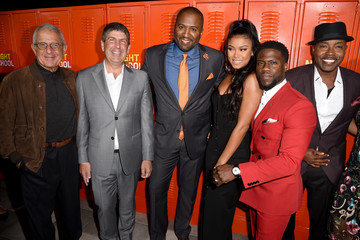 """Kevin Hart Eniko Parrish Premiere Of Universal Pictures' """"Night School"""" - Red Carpet"""