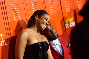 """Kevin Hart Tiffany Haddish Premiere Of Universal Pictures' """"Night School"""" - Arrivals"""
