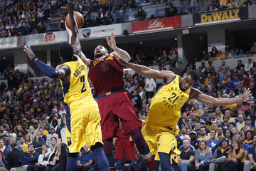 cef6d3fbc9b Kevin Love Darren Collison Cleveland Cavaliers vs. Indiana Pacers - Game  Four