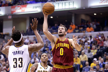Kevin Love Cleveland Cavaliers v Indiana Pacers