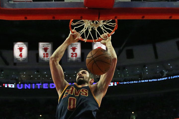 Kevin Love Cleveland Cavaliers v Chicago Bulls