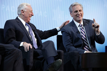 Kevin McCarthy Mike Pence And Nikki Haley Address Annual AIPAC Conference In Washington