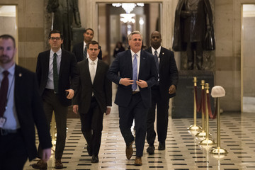 Kevin McCarthy House Votes On Motion To Go To Conference On Tax Bill