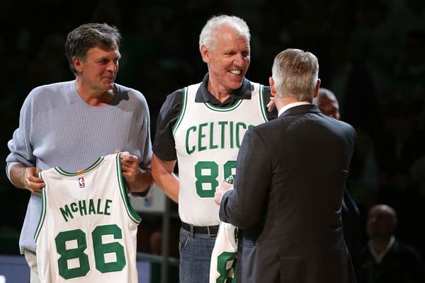 brand new 03949 50dcc Kevin McHale and Bill Walton Photos Photos - Miami Heat v ...