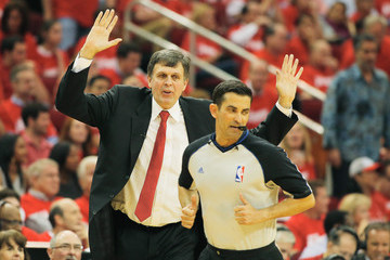 Kevin McHale Portland Trail Blazers v Houston Rockets - Game Two