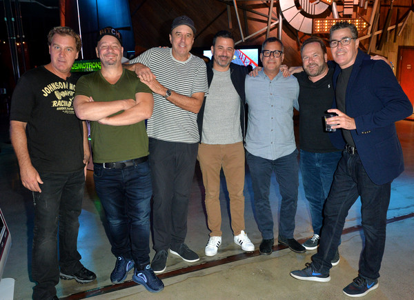 'Crank Yankers' 2019 Premiere Party [social group,event,youth,jeans,fun,t-shirt,team,recreation,leisure,games,crank yankers,premiere party,two bit circus,jim florentine,jeff ross,brent montgomery,kent alterman,jimmy kimmel,kevin nealon,adam carolla]