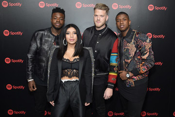 Kevin Olusola Spotify's Best New Artist Party featuring Lil Uzi Vert, SZA, Khalid, Alessia Cara and Julia Michaels held at Skylight Clarkson