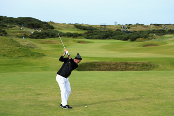 Kevin Pietersen Alfred Dunhill Links Championship - Day Two