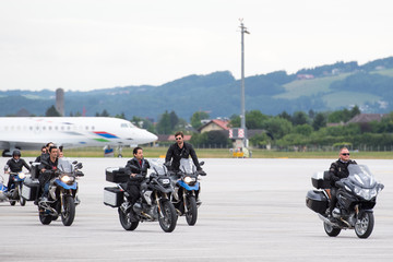 Kevin Robert Frost EpicRiders Welcome Life Ball Plane In Salzburg - Life Ball 2018