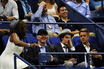Kevin Spacey 2016 US Open - Day 2