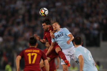 Kevin Strootman SS Lazio vs. AS Roma - Serie A