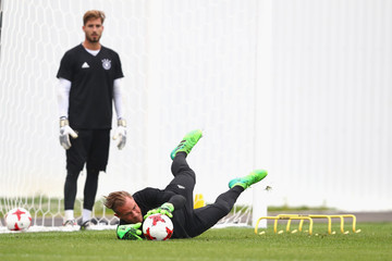 Kevin Trapp Germany - Training & Press Conference