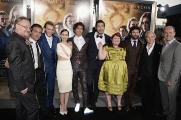 Kevin Zegers Harald Zwart 'The Mortal Instruments: City of Bones' Premieres in Hollywood — Part 2