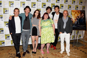 Kevin Zegers Jamie Campbell Bower 'The Mortal Instruments' Cast Gathers at Comic-Con