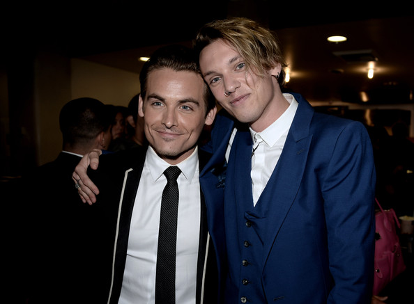 Kevin Zegers Photos Ph... Jamie Campbell Bower And Kevin Zegers