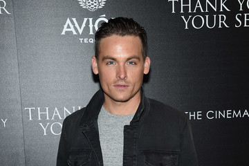 Kevin Zegers The Cinema Society Host a Screening of DreamWorks and Universal Pictures' 'Thank You for Your Service'